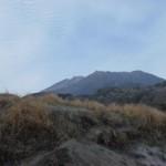 公社から見た霧島