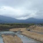 高原町から見た新燃岳