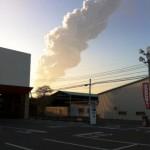 新燃岳が噴火